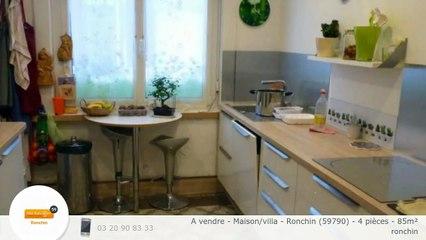 A vendre - Maison/villa - Ronchin (59790) - 4 pièces - 85m²