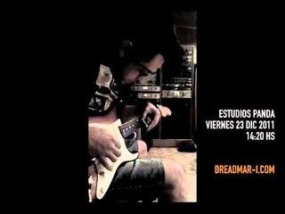 Dread Mar I @ Estudios Panda - Grabación Nuevo Disco 2012