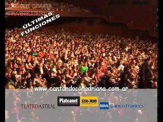 Cantando con Adriana - Fiesta de disfraces 2012. Invitacion