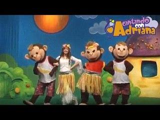 DICEN QUE LOS MONOS - Cantando con Adriana - canciones infantiles