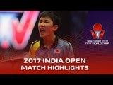 2017 India Open Highlights: Tomokazu Harimoto vs Alvaro Robles (R32)