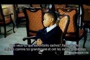 Garçon de 8 ans qui parle de la glande pinéal, du 3ème et du lavage de cerveau de la T.V. (VOSTFR)