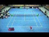 Highlights: Johanna Larsson (SWE) v Timea Bacsinszky (SUI)