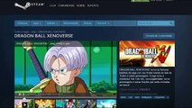 Dragon Ball Xenoverse™ Pré Order na STEAM-PC / no DEMO, Requesitos Minimos e DOA 5 Last RO