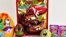 HUGE Disney Cars Blind Bag Games & Surprises Play Doh Littlest Pet Shop Toy Egg Spongebob