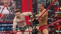 Raw  Triple H & Randy Orton vs. Sheamus, Ted DiBiase & Cody
