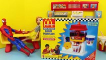 MEGA McDonalds Happy Meal Magic Snack Maker Set Hamburger French Fries & Drink Makers Disn