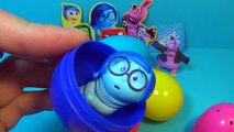 Play Doh surprise eggs! Unboxing eggs surprise Disney INSIDE OUT Mickey Mouse LION KING My