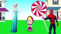 Spiderman vs Elsa vs Masha Funny Pranks Compilation 29 - Masha Crying