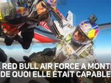 Red Bull Air Force : sauts et cascades incroyables