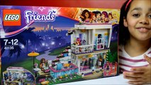 Lego Friends Livis Pop Star House Set Build Review Play - Kids Toys