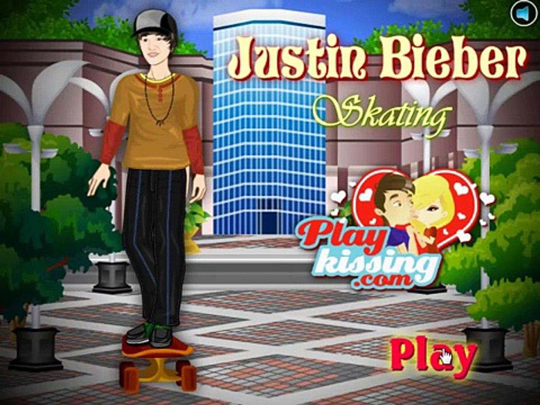 justin biber skating game , fun game for kids , super game for childrens , best game for kids , nice