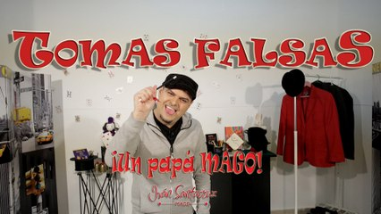 TOMAS FALSAS. VÍDEO ESPECIAL. BLOOPERS. Trucos de Magia #isFamilyFriendly
