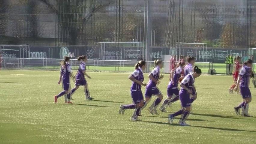 Le Résumé de TFC/Nîmes en D2 Féminine