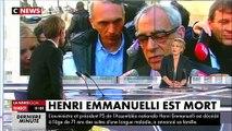 L'ex-ministre et président de l'Assemblée nationale Henri Emmanuelli est décédé à l'âge de 71 ans