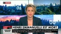 """Très ému, Benoît Hamon réagit au décès d'Henri Emmanuelli: """"C'était une forme d'âme soeur pour moi"""" - Regardez"""