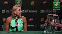 Elena Vesnina se fait voler son trophée BNP Paribas Open 2017