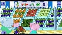 Hippo Peppa Shopping in Supermarket - for Kids - No Ads - GamePlay HD
