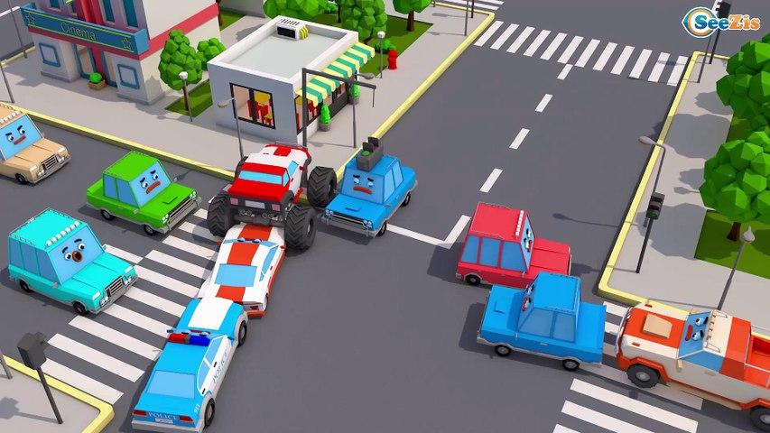Ambulans - Arabalar çizgi filmi izle - Akıllı arabalar - Eğitici çocuk filmi - Türkçe İzle