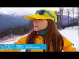 Joany Badenhorst: How to make a snowball in sochi at Sochi