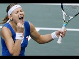 Czech Republic v Serbia - FED CUP FINAL R1 - Official Tennis Highlights   Fed Cup 2012