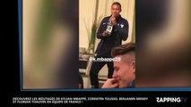 Equipe de France : Le bizutage de Kylian Mbappé, Florian Thauvin, Benjamin Mendy et Corentin Tolisso (Vidéo)