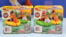 Jake and the Never Land Pirates Water Jet Racers with Duplo Lego Captain Hook and Little M