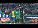 Highlights: Alexandr Nedovyesov (KAZ) v Fabio Fognini (ITA)