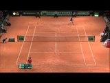 Highlights: Jo-Wilfried Tsonga (FRA) v Stan Wawrinka (SUI)