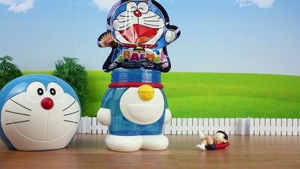 Doraemon toy Bath ball Surprise Egg ドラえもん おもちゃ バスボール doremon Đồ chơi trẻ em 도라에몽 장난감