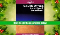EBOOK ONLINE South Africa, Lesotho   Swaziland (Lonely Planet South Africa, Lesotho   Swaziland)