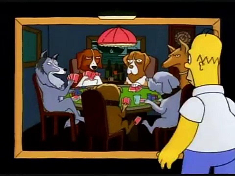 Perro Jugando Poker
