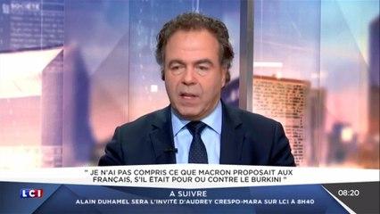 LCI Matin : Luc Chatel s'en prend à Macron