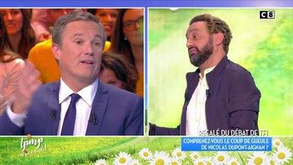 TPMP : Nicolas Dupont-Aignan est désolé de son coup de gueule vis-à-vis d'Audrey Crespo-Mara