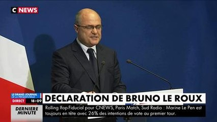 Bruno Le Roux annonce sa démission du gouvernement