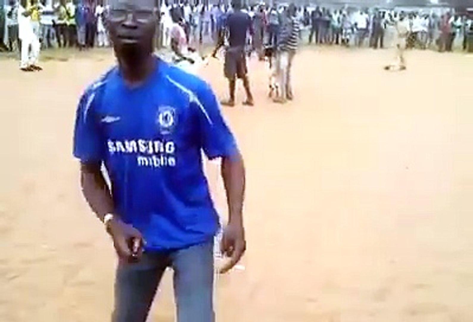 Ram animal fight in Yoruba Nigeria