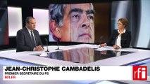 Jean-Christophe Cambadélis, Premier secrétaire du Parti socialiste (PS)