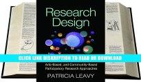 Books Research Design: Quantitative, Qualitative, Mixed Methods, Arts-Based, and Community-Based
