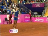 Fed Cup Highlights: Svetlana Kuznetsova v Ana Ivanovic