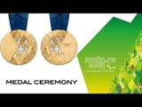 Day 3 | Victory Ceremonies | Sochi 2014 Paralympic Winter Games