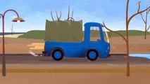 Le garage du Dr McWheelie - Camion, bus, 4x4 Monster Truck et voiture de course rouge sont réparés!