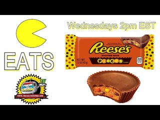 EATS - Reese's Cups STUFFED WITH REESE'S PIECES (Episode 227)