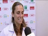 Fed Cup Interview: Roberta Vinci