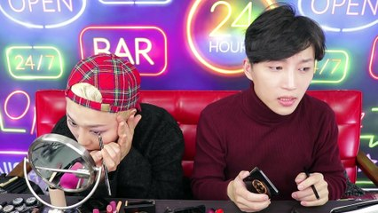 Clubbing Makeup with Gucci 클럽메이크업 (Feat. Ssin 씬님)   RickyKAZAF