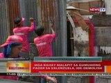 BT: Mga bahay malapit sa gumuhong pader sa Valenzuela, ide-demolish