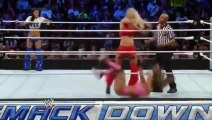720pHD WWE Smackdown The Bella Twins vs Natalya & Summer Rae