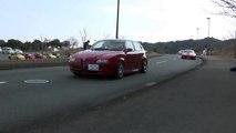 【 Alfa Romeo 】 【 Ferrari 360 Spider】 【 Ferrari 550 】 【 BMW M3 】 2016/3/6 エコパ・サンデーラン