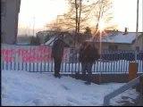 Manifestation anti-cpe à Morteau (25)