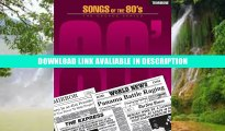 [PDF] SONGS OF THE 1980S TROMBONE  80S EIGHTIES DECADE (The Decade Series) By