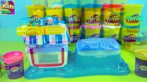 Play Doh Double Desserts Playset Playdough Cupcakes toys Review Kids Games - HD